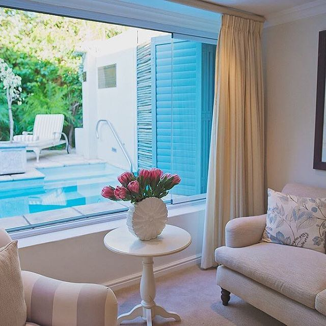 A pool suite at The Last Word Franschhoek is the perfect place to relax and unwind when visiting the picturesque valley of Franschhoek. The luxury of a spacious room and the added seclusion provided by a private pool is what makes these suites so sought after.