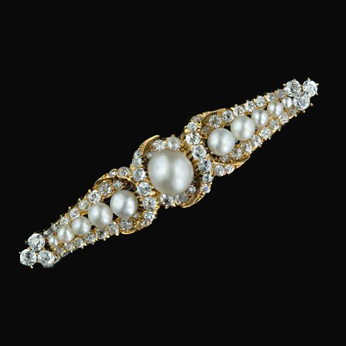 Antique Victorian Natural Pearl and Diamond. I know that I'm way ahead of myself, but I want a pearl engagement ring.