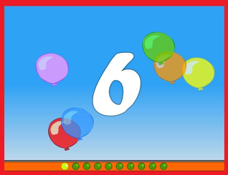 Ballonnen knallen 1-10 op kleuteridee.nl