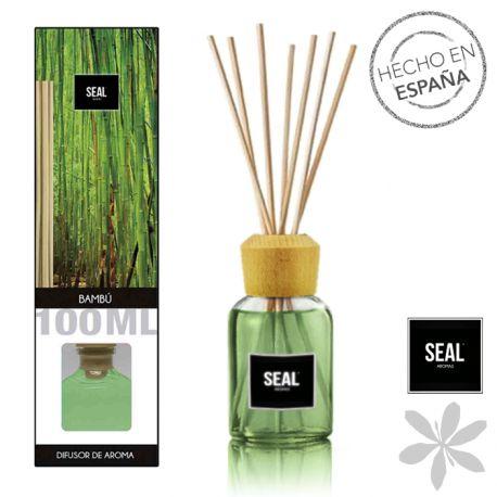 """""""BAMBÚ""""  #Ambientador mikado. Sin necesidad de encender velas, sin electricidad, de forma natural y discreta, disfruta de las propiedades relajantes del aroma de bambú. El olfato humano tiende a acostumbrarse a un mismo aroma trás un tiempo breve de exposición, por eso, es recomendable cambiar de aroma periódicamente. 3,50 €"""