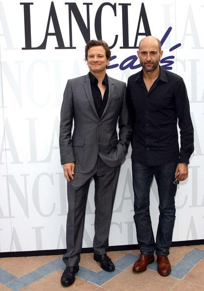 Mark Strong Photos: Celebrities At The Lancia Cafe - September 5, 2011