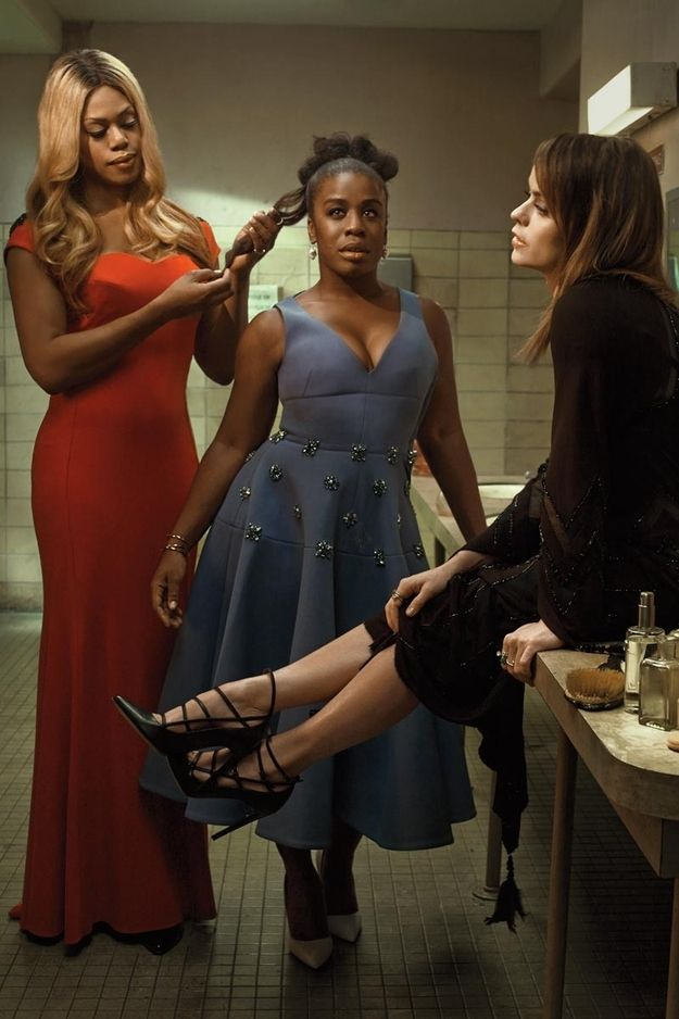 "The ""Orange Is The New Black"" Cast Looks Flawless In Elle :) OITNB <3"
