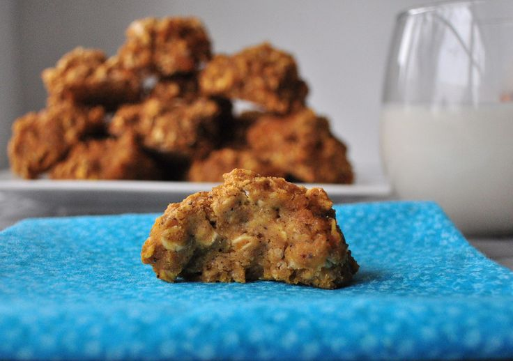 Pumpkin Spice Breakfast Cookies.  The perfect breakfast that tastes like Fall.  Vegan and can be gluten free.