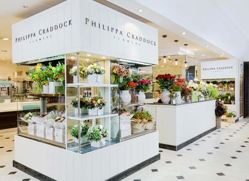 Florist Philippa Craddock opens her first retail shop in Selfridges in London