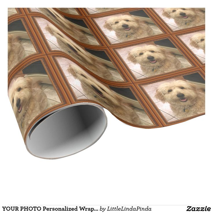 YOUR PHOTO Personalized Wrapping Paper