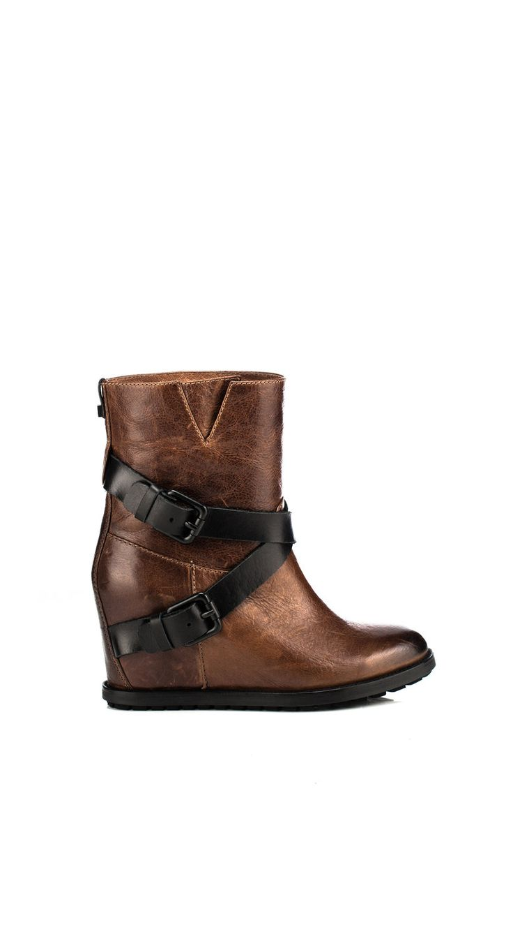 Ankle-high boot with concealed wedge - Rudsak Store