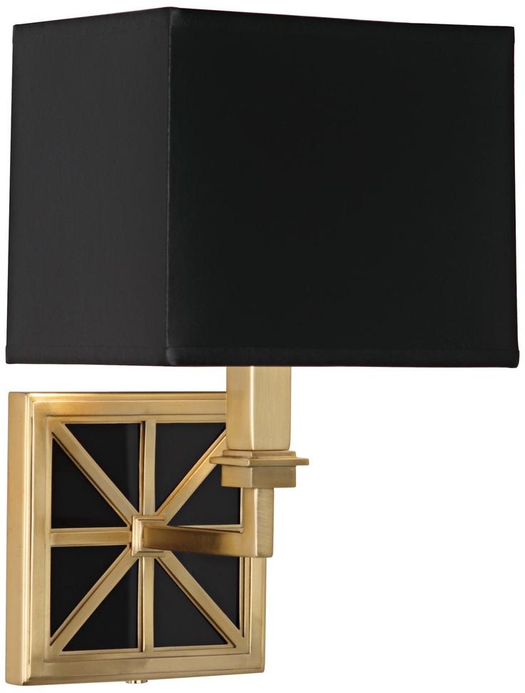 Mary McDonald Directoire Black 13 3/4  High Brass Wall L& | L&sPlus.  sc 1 st  Pinterest & 17 best lissetre images on Pinterest | Home Neiman marcus and ... azcodes.com