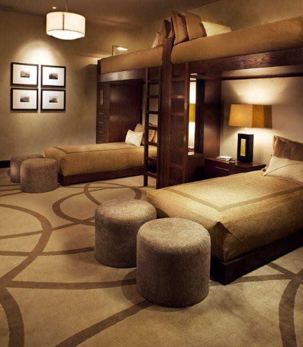 50 idées modernes de lit superposé