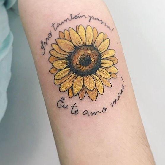 seja com um girasol#tattoos Tattoo colorida girasol  @hik.marola #risscado   seja com um girasol#tattoos Tatt… | Tatuajes girasoles, Tatuaje de girasol, Tatuaje ojo