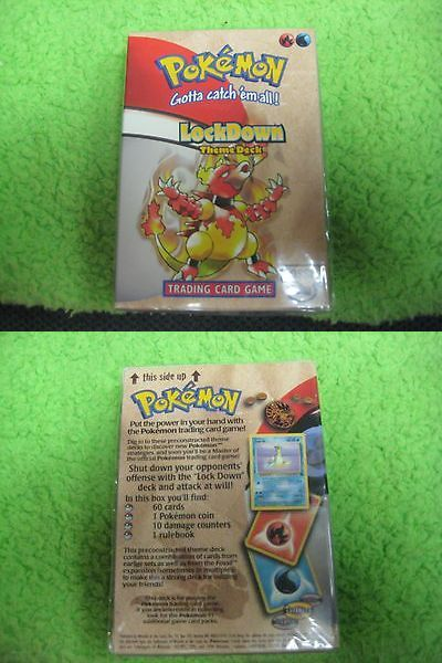 Pok mon Sealed Decks and Kits 183467: Pokemon Theme Deck 1999 New Very Rare! Fossil Lockdown -> BUY IT NOW ONLY: $50 on eBay!
