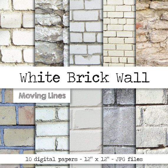 Best 25 white brick wallpaper ideas on pinterest brick for Distressed brick wall mural