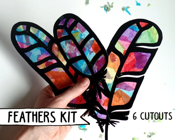 Kids Craft Kit bloem gebrandschilderd glas Suncatcher Kit met