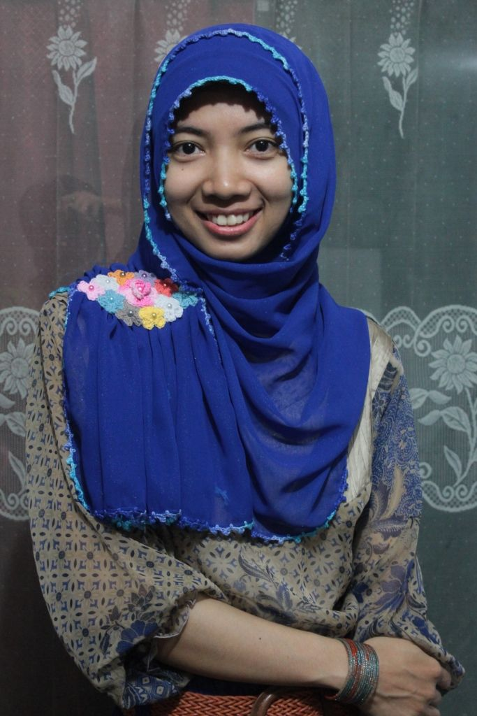 Pashmina with a thousand flower