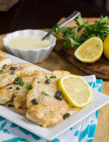 Chicken with Lemon Butter Sauce (Buca Di Beppo copycat)