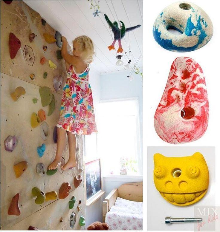 «Продолжим о #зонирование в детской комнате. #Спорт, вот что очень хотят родители обязательно увидеть в детской. И конечно же это шведская стенка с…»