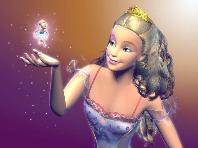 my first memories of ballet - Barbie in the Nutcracker
