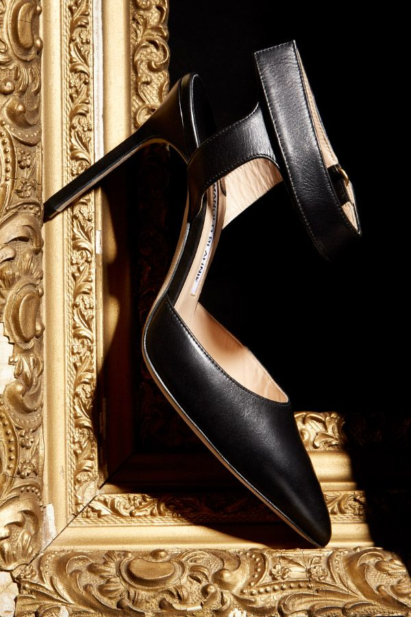 Classic glamour by Manolo Blahnik