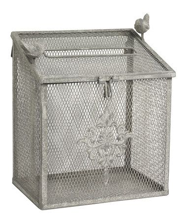Take a look at this Mesh Metal Box by K Interiors on #zulily today!