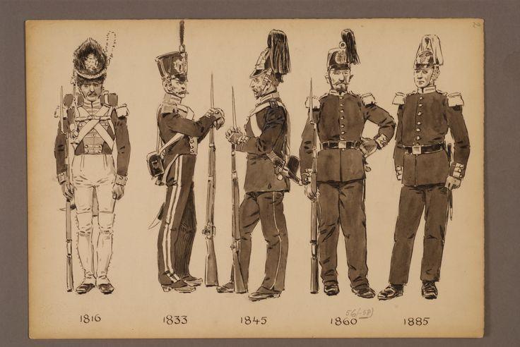 Svea Lifeguard 1816-1885 by Einar von Strokirch