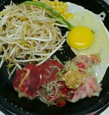 """BEEF BARBEQUE YAKINIKU add bean sprout"" Wajib dicoba ini #SuperMeatLover"