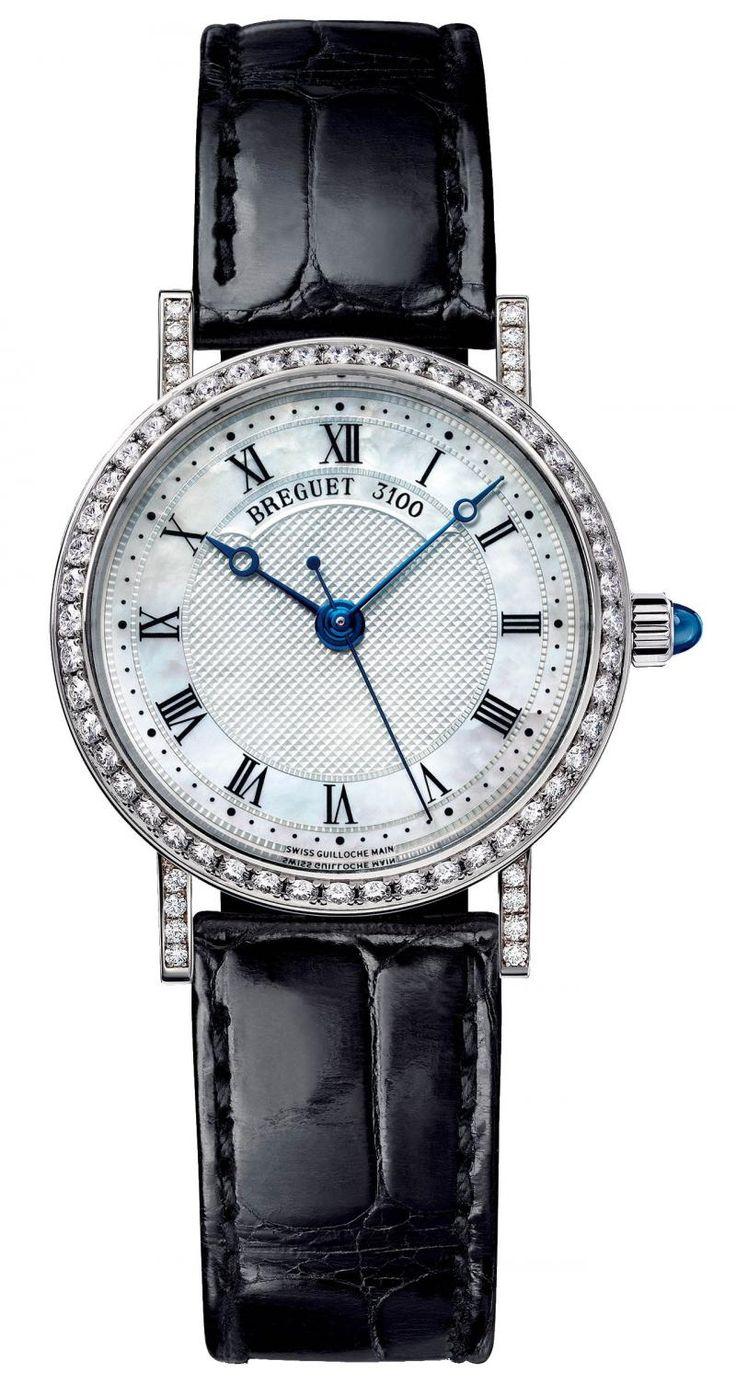 Breguet 8068BB/52/964 DD00 Classique Diamonds. #Breguet - белые, черные - швейцарские женские наручные часы