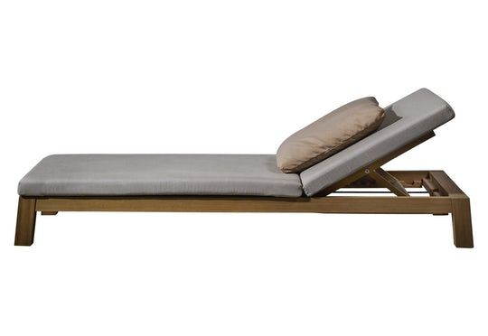 Iroko Gijs Daybed  Contemporary, Upholstery  Fabric, Wood, Daybed by Lepere