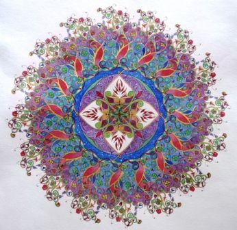 """Mandala """"prosperidad"""""""