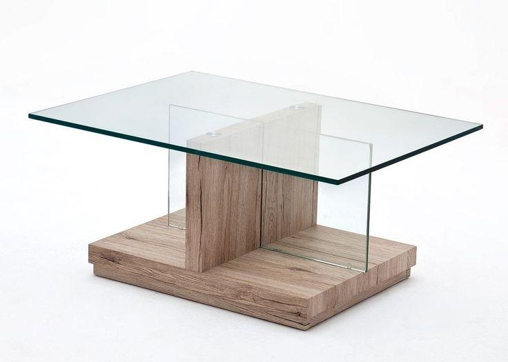Couchtisch Glas Lina Mit San Remo Eiche Buy Now At S