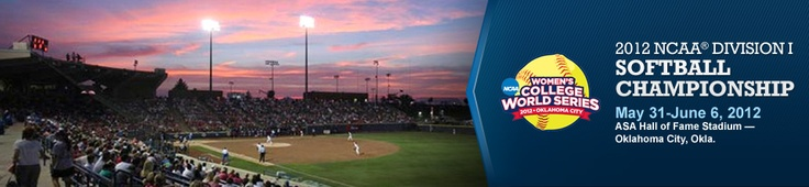 Go and watch the Women's College Softball World Series in Oklahoma City
