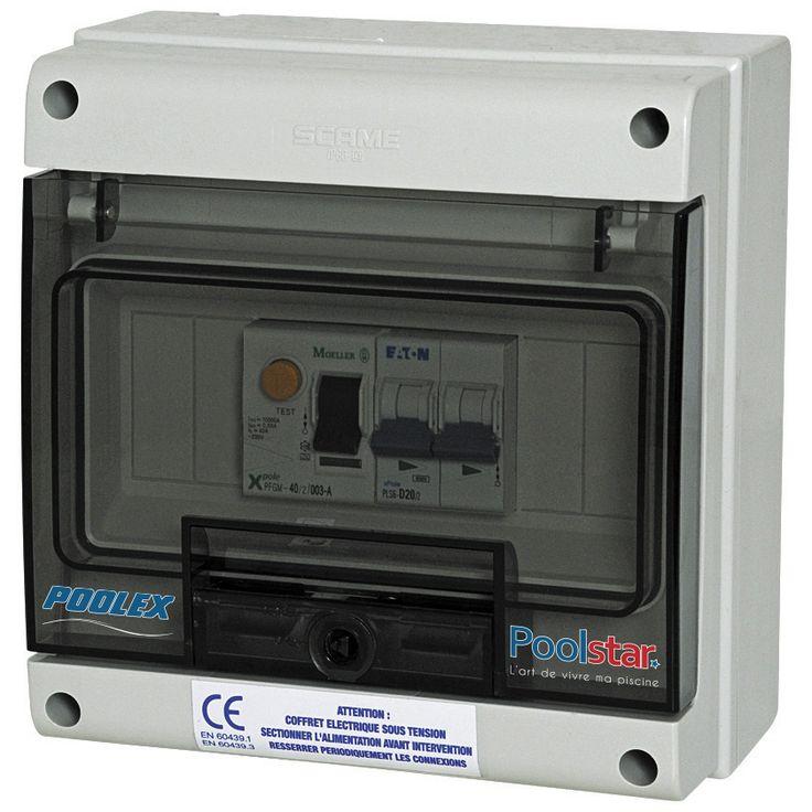 Coffret De Protection Electrique Pour Pompe A Chaleur Monophase 10A au meilleur prix! - LeKingStore