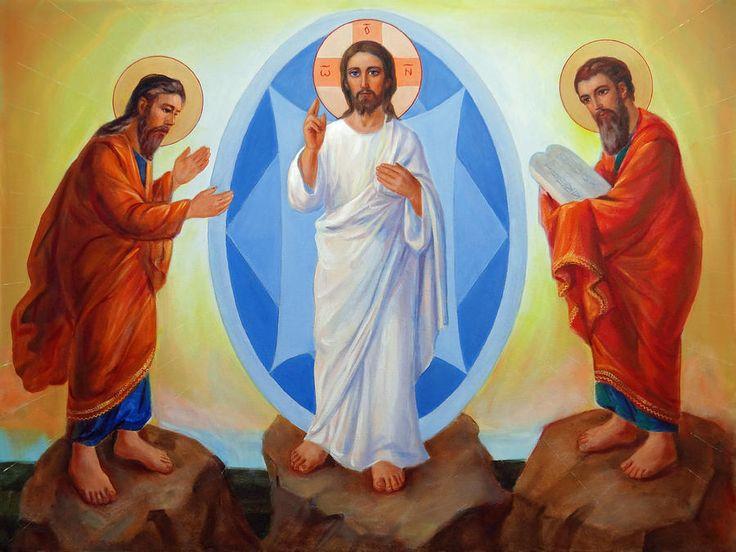Transfiguration Of Jesus Painting - Transfiguration Of Jesus Fine Art Print