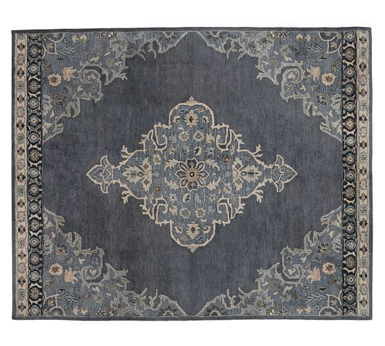 Bryson Persian-Style Rug | Pottery Barn ... Got mine on eBay for half the PB price!