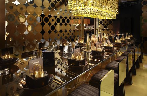Gold Pavilion for Diffa