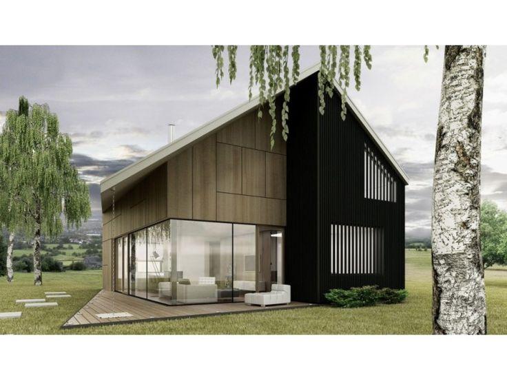 390 besten energiesparh user bilder auf pinterest balkon for Einfamilienhaus architektur modern