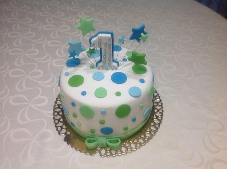 1 éves kisfiú tortája