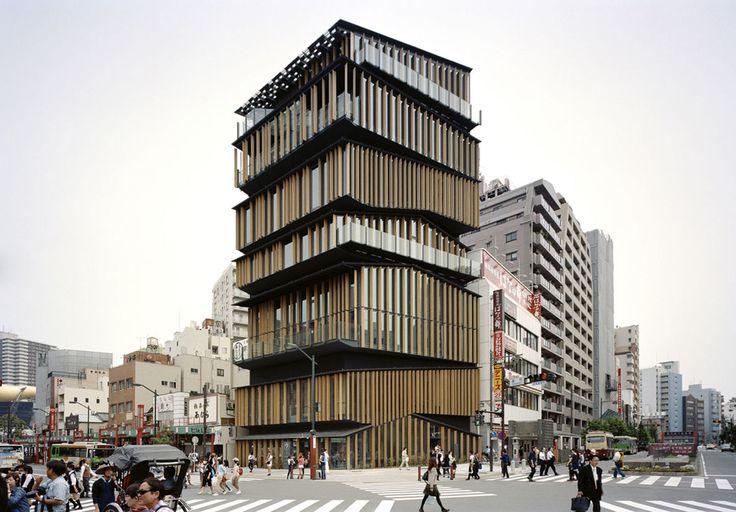 Kengo Kuma & Associates · Asakusa Culture and Tourism Center · Divisare