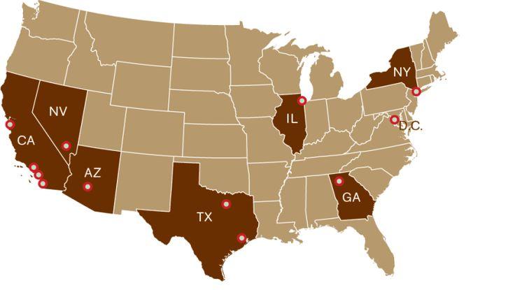 Cupcake ATM locations