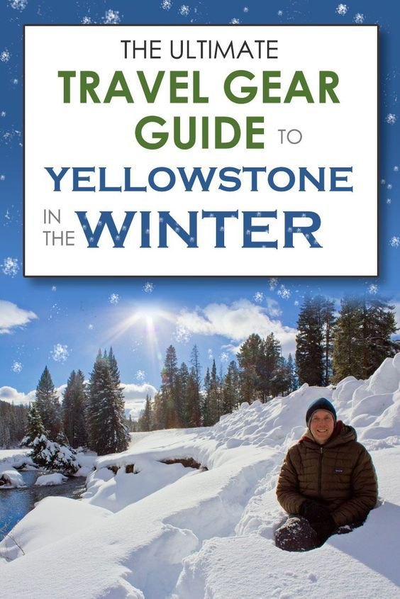 Our recommended gear to take to Yellowstone National Park USA in the winter.