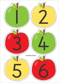 Back to School Literacy Centers for Kindergarten. Apple sorting activity: sorting lower case letter, upper case letters and number. Can also use these cared for alphabet and number order.