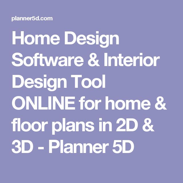 Home Design Software Interior Tool ONLINE For Floor Plans In 2D