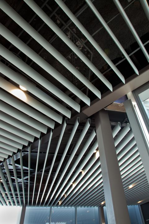 Metal Ceilings High Profile Series From Hunter Douglas