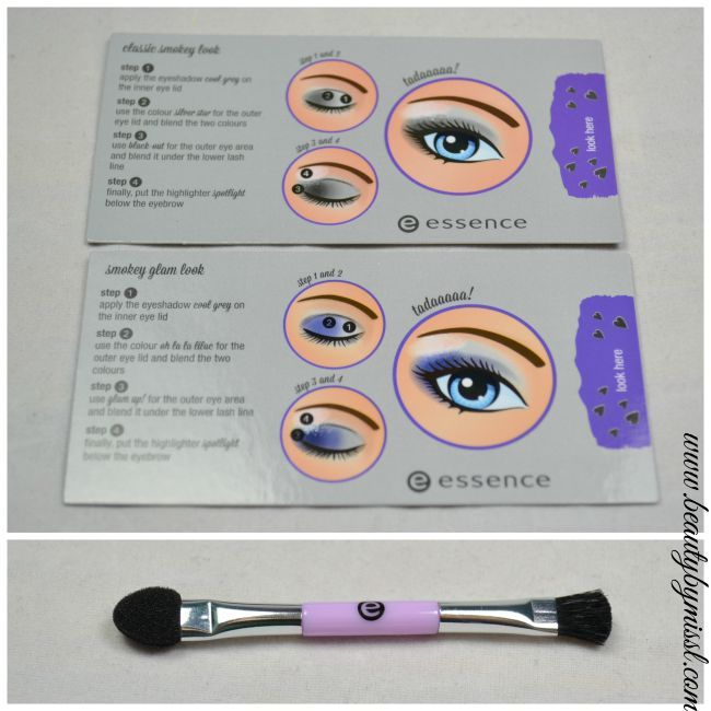 Essence How To Make Smokey Eyes Make-Up Box