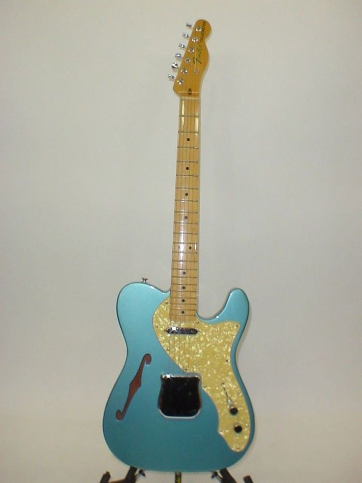 Fender Thinline '69 Reissue Telecaster Tele Electric Guitar 2002 w/ CASE & STRAP | Musical Instruments & Gear, Guitars & Basses, Electric Guitars | eBay!
