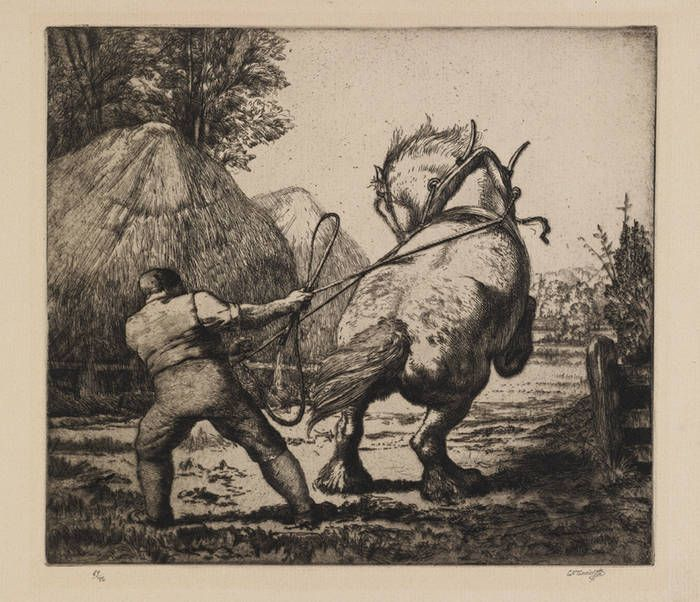 Tunnicliffe Country Life - Fine Art Society