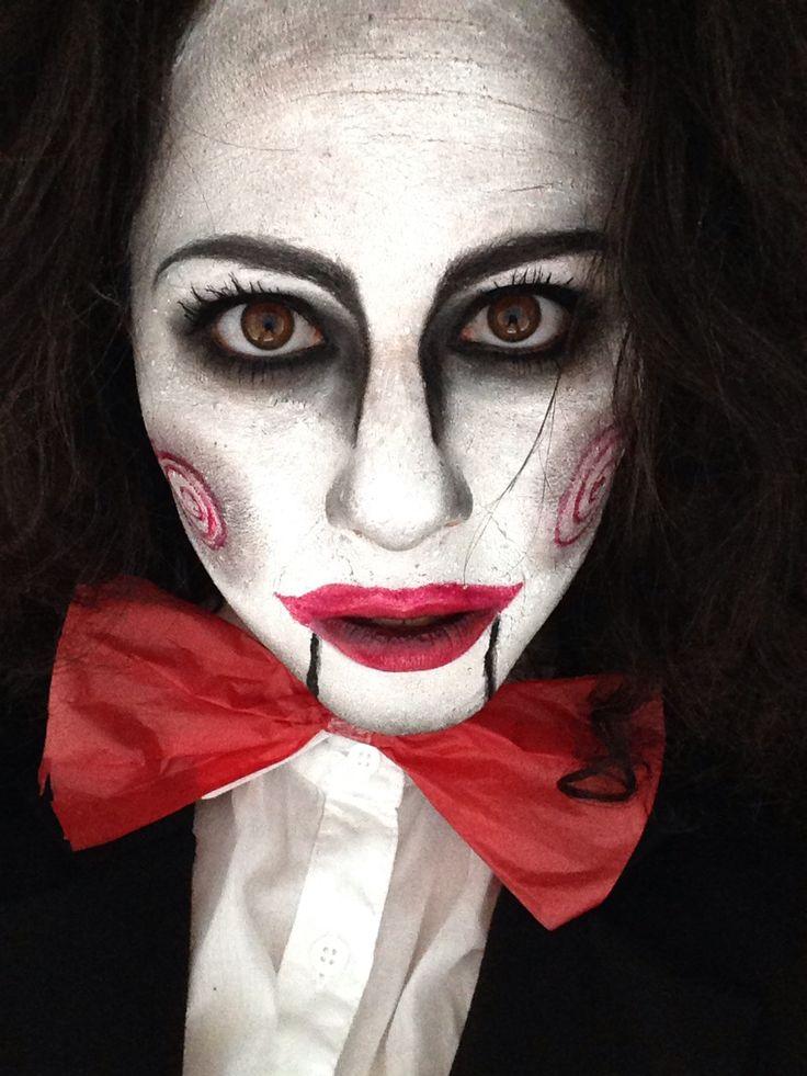 25+ Best Ideas About Jigsaw Makeup On Pinterest | Jigsaw Costume Jigsaw Doll And Jigsaw Costume ...