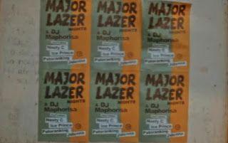 Major Lazer & DJ Maphorisa - Particula ft Nasty C, Ice Prince, Patoranking & Jidenna