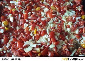 Pečená rajčatová směs recept - TopRecepty.cz