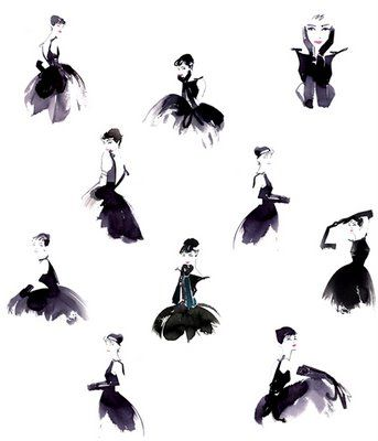 audrey    http://2.bp.blogspot.com/_R3pXQKzRHg8/SlmM5qt0KmI/AAAAAAAAAT8/kmuDVBxkDw0/s400/audrey-hepburn-the-little-black-dress-illustration.jpg <3