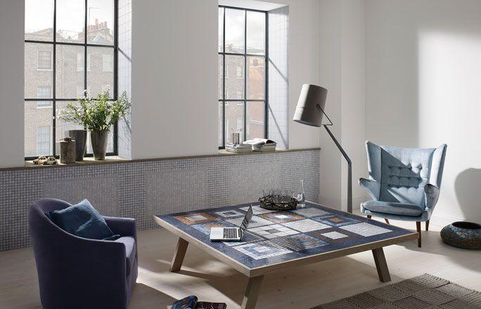 Mosaikfliesen für Tisch und Wand