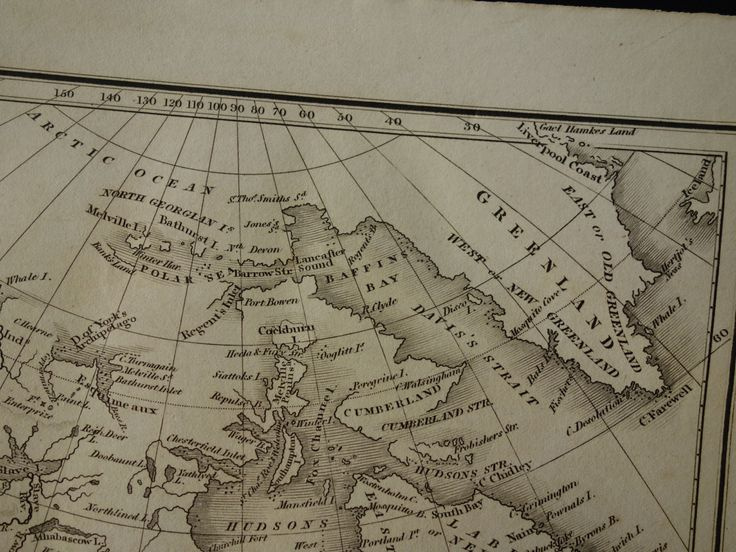 Antique Map Of North America 1826 Years Old Original B W Print About Continent Usa United States Canada New Albion By Vintageoldmaps On Etsy